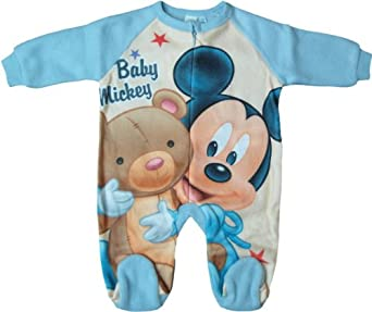disney micky maus pyjama schlafanzug strampler baby. Black Bedroom Furniture Sets. Home Design Ideas
