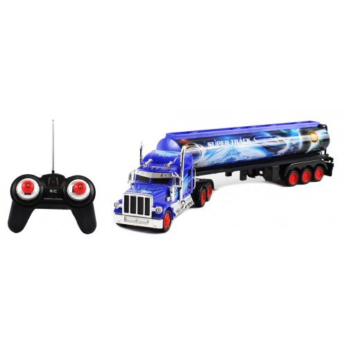 Electric 1:36 Heavy Duty Diesel Full Function RTR RC Semi Truck Remote Control Good Quality