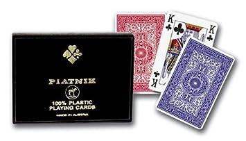 Gibsons - Piatnik - Cartes 100% plastique cartes à jouer - Langue: anglais