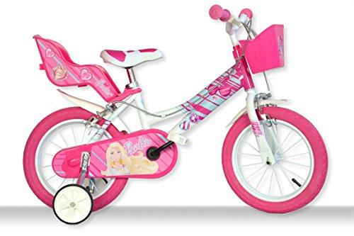 Dino Bikes 146 R-BA - Barbie Bicicletta, 14 Pollici