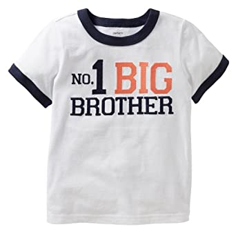 Carters toddler 1 big brother t shirt 4t for Big brother shirts for toddlers carters