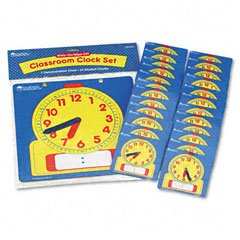 WRITE-ON/WIPE-OFF CLOCKS CLASS SET - Buy WRITE-ON/WIPE-OFF CLOCKS CLASS SET - Purchase WRITE-ON/WIPE-OFF CLOCKS CLASS SET (Learning Resources, Toys & Games,Categories)