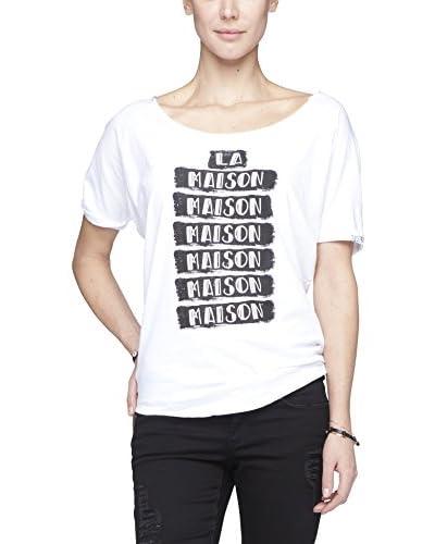 Maison Scotch T-Shirt Manica Corta [Bianco]