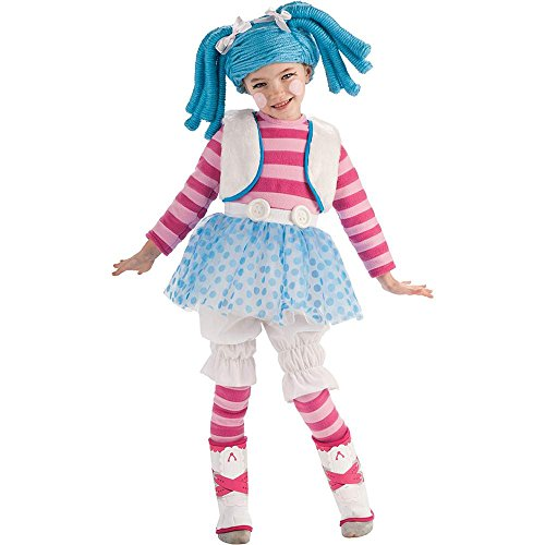 Lalaloopsy Mittens Fluff 'N' Stuff Deluxe Toddler Costume - Toddler