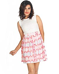 Young Trendz Lace Printed Dress