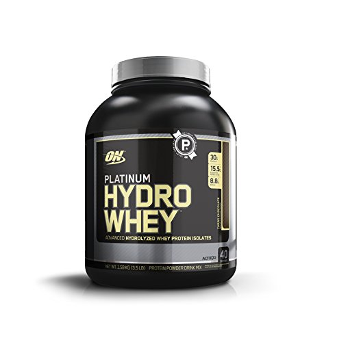Optimum Nutrition Platinum Hydrowhey, Turbo Chocolate, 3.5