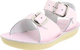 Salt Water Style 1700 Sun-San Surfer Sandal,Pink,3 M US Infant