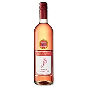 Barefoot White Zinfandel 75cl - Pack of 6