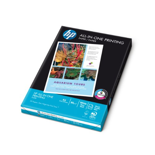 HP - Plain paper - A4 (210 x 297 mm) - 80 g/m2 - 250 sheet(s)
