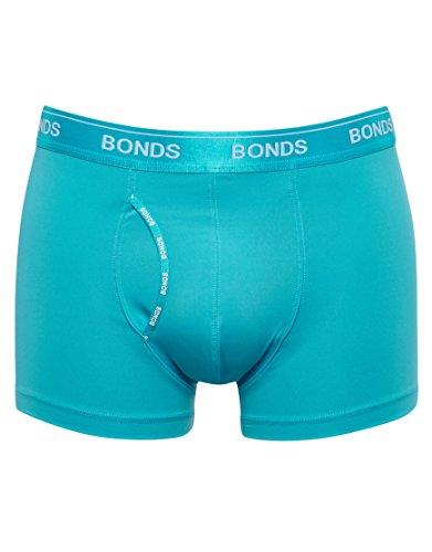 bonds-mens-guyfront-microfibre-trunk-size-large-in-blue