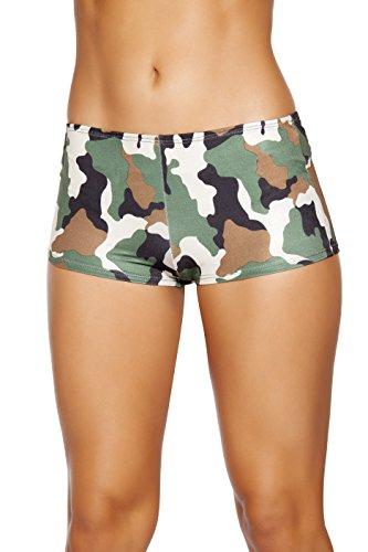 Roma Costume Women's Camouflage Boy Shorts, Camouflage, Small/Medium Women Camouflage Shorts