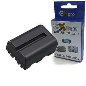 Ex-Pro Puissance élevée Plus+ NP-FM500H, NPFM500H 1650mAh Sony Cybershot Alpha DSLR Replacement Lithium Li-on Batterie d'appareil-photo pour:- Sony Alpha DSLR A200, A300, A350, A700, A900