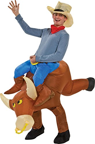 Morris Costumes Men's Bull Rider Inflatable Costume
