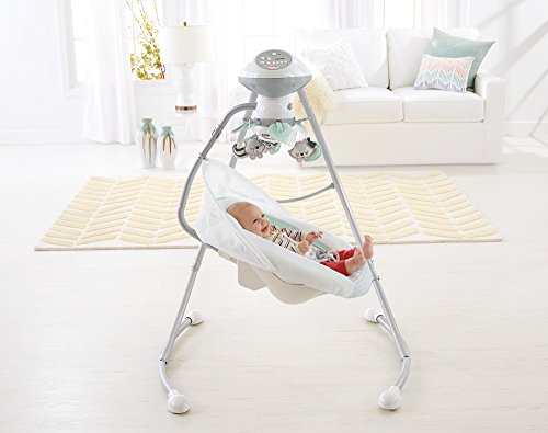 Fisher-Price Moonlight Meadow Deluxe Cradle 'n Swing