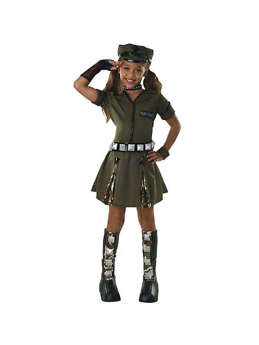 Major Flirt Military Kids Costume