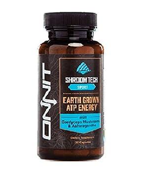 Onnit Shroom TECH Sport Clean ATP energy. Better oxygen utilization