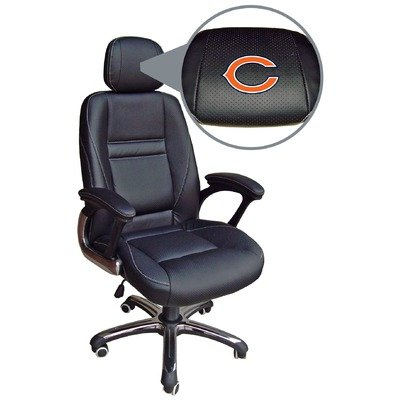Chicago Bears Leather Office Chair
