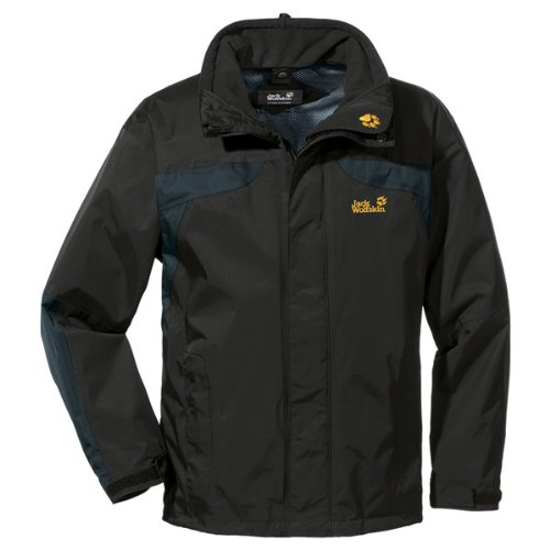 Jack Wolfskin TOPAZ JACKET MEN black