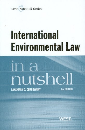 International Environmental Law in a Nutshell, 4th (West Nutshell)
