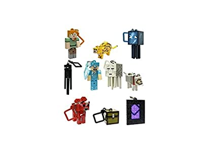 Minecraft Toy Action Figure Hanger 2 Set of 10 PC from Minecraf