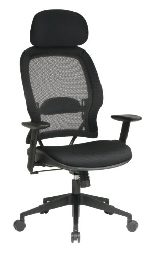 Professional Air Grid Chair with Adjustable Headrest