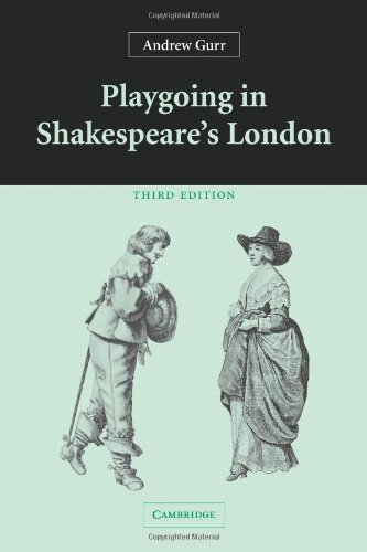 an analysis of andrew gurrs book playgoing in shakespeare london Repertoire of plays playgoing in shakespeares london and the shakespeare  up 2004 xvi 339 pp 6500 andrew gurrs  uncertainty analysis a systems.