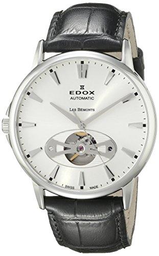 Edox Les Bémonts reloj hombre Open Heart 85021 3 AIN