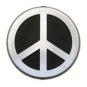 "Amazon.com: 2-1/2"" Peace Sign Car Emblem: Automotive"
