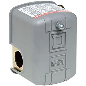 Square D by Schneider Electric FSG2J24M4CP 40-60 PSI Pumptrol Water Pressure Switch with Low Pressure Cut-Off