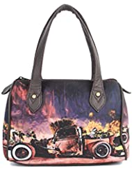 Zoe Makhoa Women's Vintage Car Mini Handbag - Multi