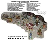 21 Pc Cobblestone Corners Christmas Village by Windham Heights