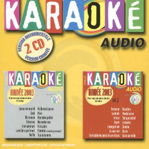 Coffret 2 CD : Karaoké 2003