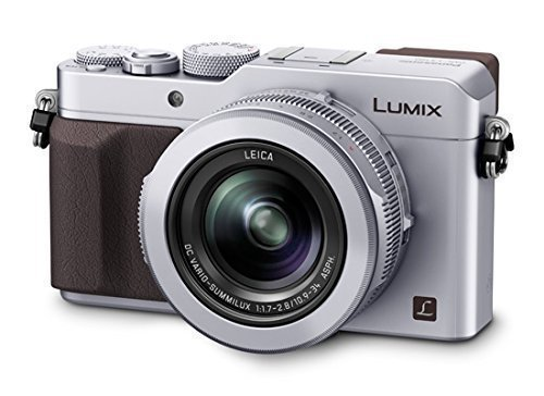Panasonic DMC LX100  Silver  available at Amazon for Rs.69999