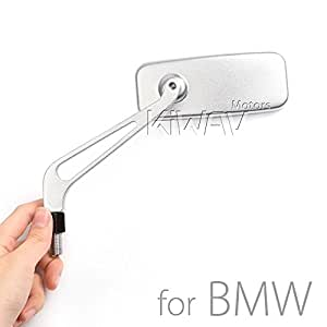 magazi motorrad spiegel aluminium classic silber f r bmw. Black Bedroom Furniture Sets. Home Design Ideas