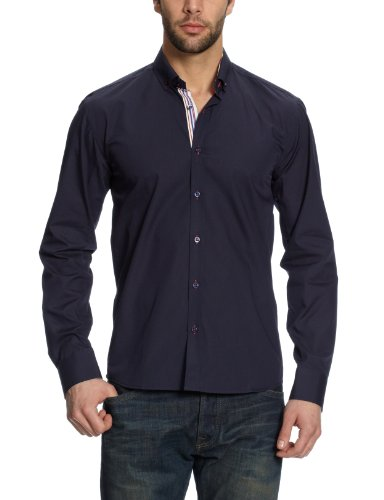 Selected One Mix Navy Casual Shirt - X Large