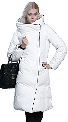 c2af5e86fe740 Orolay Women s Thickened Long Down Jacket with Hood at Amazon Women s Coats  Shop