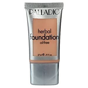 Palladio Herbal Liquid Foundation, Naturally Beige, 0.91 Ounce