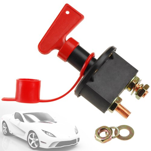 Car Battery Isolator Cut Off Switch 24v 12v Max 500A