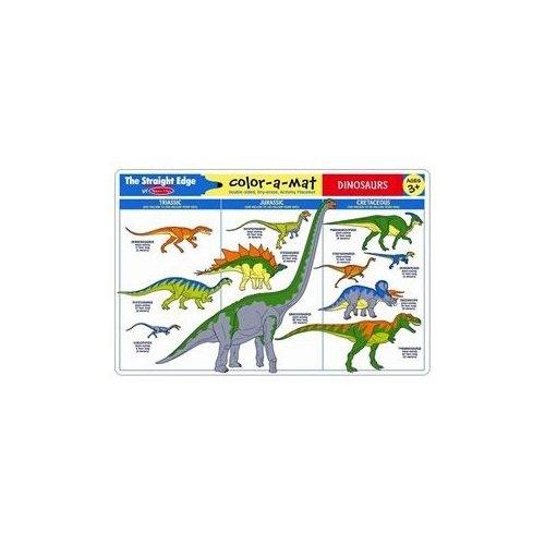 Melissa & Doug Dinosaurs Write-a-Mat - 1