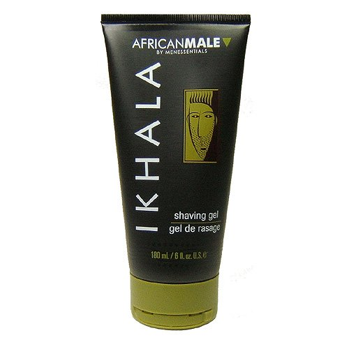 : ikhala shaving gel 6 oz - buy african male by menessentials: ikhala