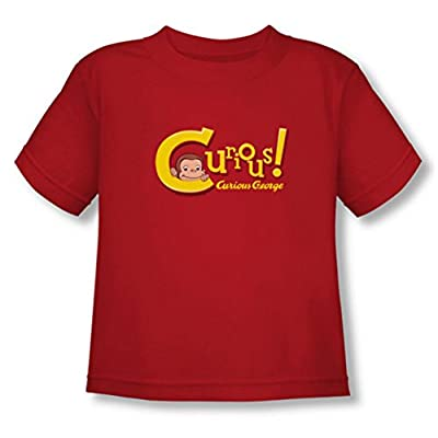 Curious George Title Toddler T-Shirt