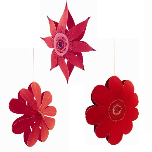 Djeco / Hanging Paper Decor, Wind Flowers - 1
