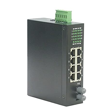 ROLINE Switch indust. 7x10/100 100FX ST