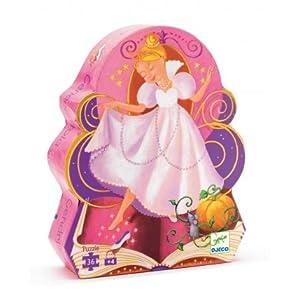 Djeco / Shaped Box Puzzle, Cinderella