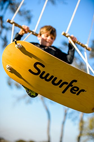 Cheapest Prices! The Swurfer Original Outdoor Backyard Tree Swing with Unique Skateboard Seat Design...
