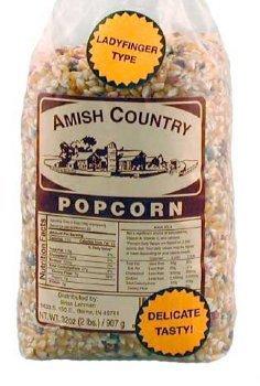 Ladyfinger Amish Country Popcorn, 1-lb Bag