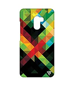 Vogueshell Triangle Pattern Printed Symmetry PRO Series Hard Back Case for Lenovo K4 Note