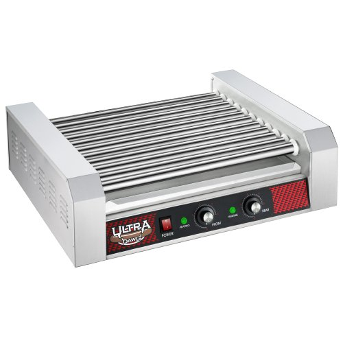 Great Northern Commercial Quality 30 Hot Dog 11 Roller Grilling Machine 2200W (Hot Dog Roller Grilling Machine compare prices)