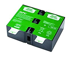 APC APCRBC124 UPS Replacement Battery Cartridge for BR1300G, BR1500G, SMC1000-2U and select others