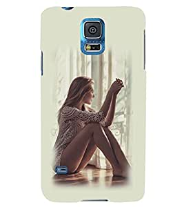 PRINTSWAG GIRL Designer Back Cover Case for SAMSUNG GALAXY S5